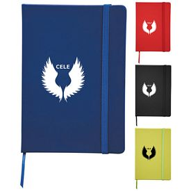 Promotional Snap Elastic Closure 3X7 Notebook