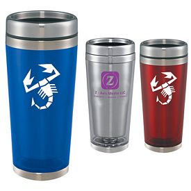 Customized North Beach 16 Oz Travel Tumbler