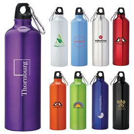 Custom Pacific 26 Oz Aluminum Sports Bottle