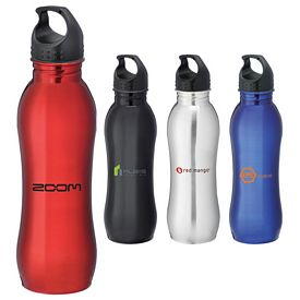 Promotional Curve 25 Oz Sports Bottle