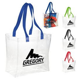 Customized Rally Clear Stadium Tote Bag