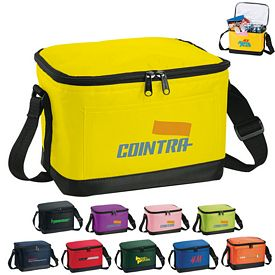 Custom Out To Lunch 6-Pack Cooler Bag