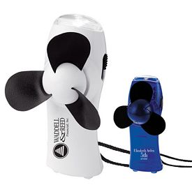 Promotional Turbo Mini Fan - Flashlight