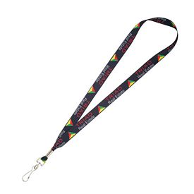 Customized 3-4 Wide Full Color Lanyard