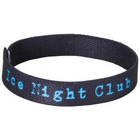 Customized 1-2 Wide Full Color Wrist Band