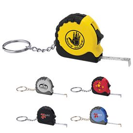 Promotional Pocket Pro Mini Tape Measure - Keychain