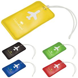 Promotional Voyage Airplane Luggage Tag