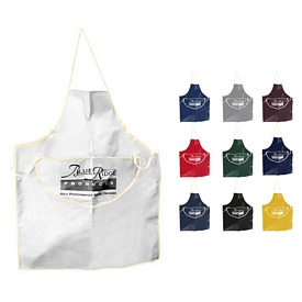 Promotional 10 Oz Colored Canvas Work Apron