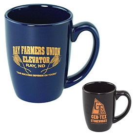 Custom 11 Oz Challenger Colored Mug