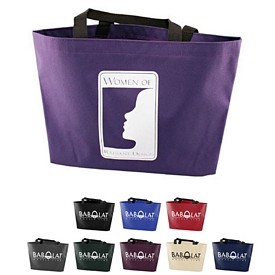 Promotional 600 Denier Gusset Tote Bag