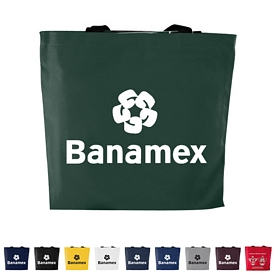 Custom 10 Oz Large Colored Canvas Flat Tote Bag