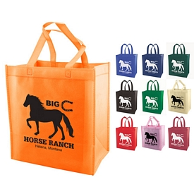 Promotional Non-Woven Eco-Friendly Grocery Tote