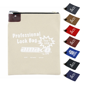 Customized 18 Oz Tall Canvas Lock Bag