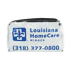 Customized 19 Gauge Wide Clear Vinyl All Purpose Bag