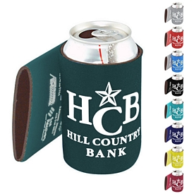 Custom Usa Made Nylon Polar Wrap Can Cooler