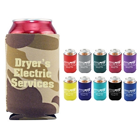 Promotional Polyester Foam Pocket Pal Can Cooler