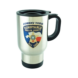 Promotional 16 Oz 4-Color Process Stainless Steel Mug