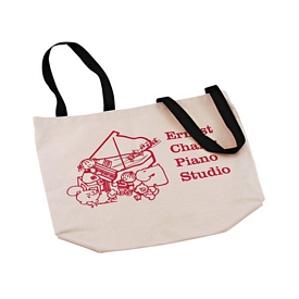 Promotional Wheelchair Natural Canvas Tote Bag
