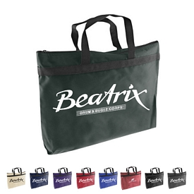 Promotional 600 Denier Canvas Zippered Tote