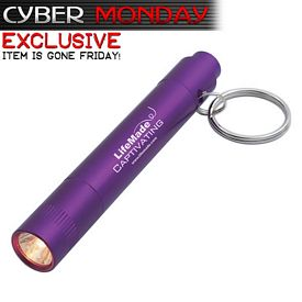 Promotional Aluminum Led Light Key Ring - Cyber Monday - CLOSEOUT ITEM