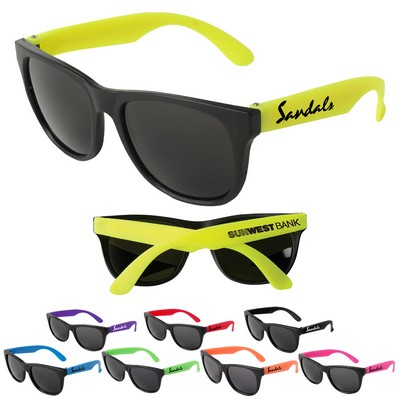 d33c1ebeb3 Customized Neon Party Sunglasses Feature