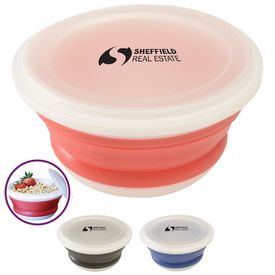 Promotional Silicone Collapsi-Bowl
