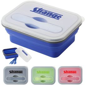 Custom Silicone Collapse-It Lunch Container