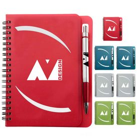 Customized 5 X 7 Huntington Notebook W-Pen