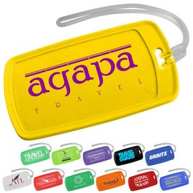 Customized Traveler Rectangular Luggage Tag