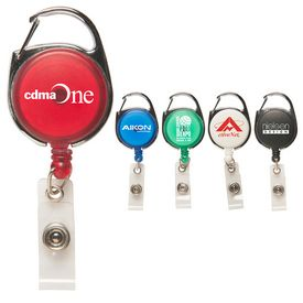 Promotional Carabiner Secure-A-Badge