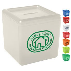 Promotional Cash Cube Coin Bank