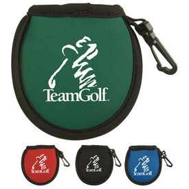 Custom Golf Ball Cleaning Pouch