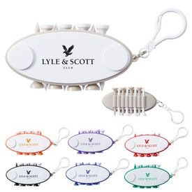 Promotional Oval Golf Tee Carrier