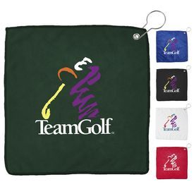Custom Full Color Printed Golf Towel