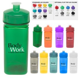 Promotional 16 Oz Polysure Squared-Up Bottle