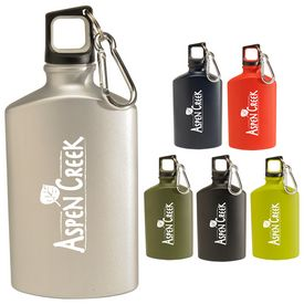 Promotional 17 Oz Hiking Canteen Aluminum Bottle