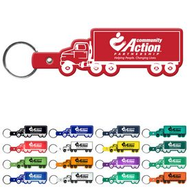 Promotional Truck Flexible Key Fob