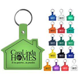 Promotional House Flexible Key Fob