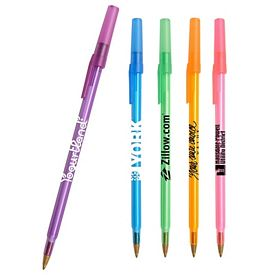 Promotional Transparent Competitor Stick Pen