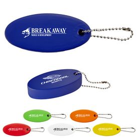 Custom Oval Floater Keytag