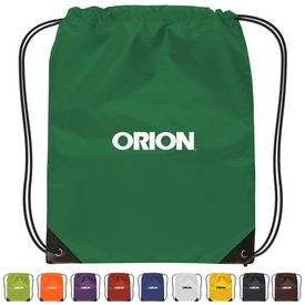 Promotional Small 210D Nylon Drawstring Backpack