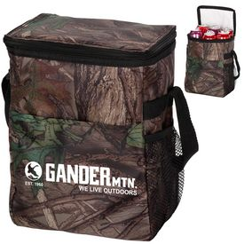 Promotional Outdoor Camo 12-Pack Cooler