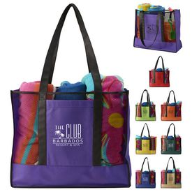 Custom Havasu Non-Woven Beach Tote Bag