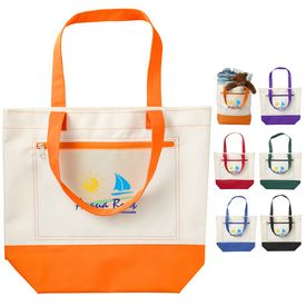 Custom Marina Boat Tote Bag