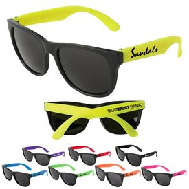 Promotional Neon Party Sunglasses