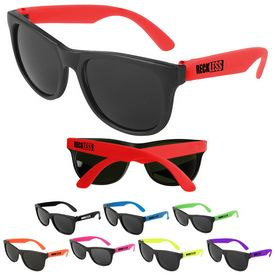 Customized Junior Size Kids Neon Sunglasses
