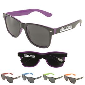 Promotional Miami Two-Tone Sunglasses