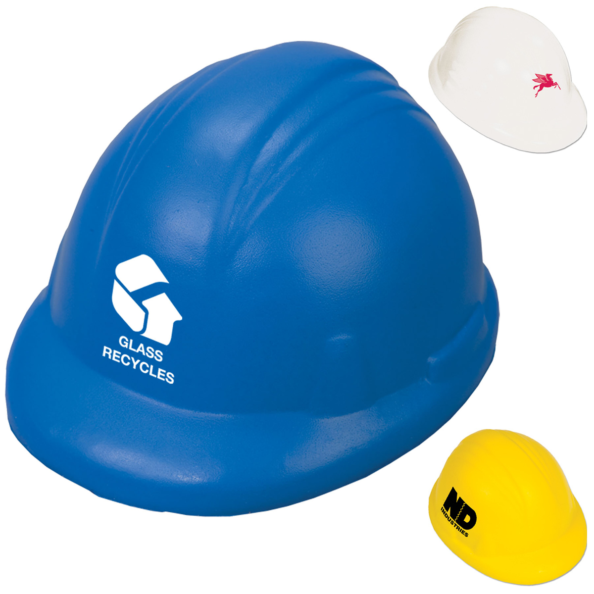 Hard Hat Stress Reliever Stressballs