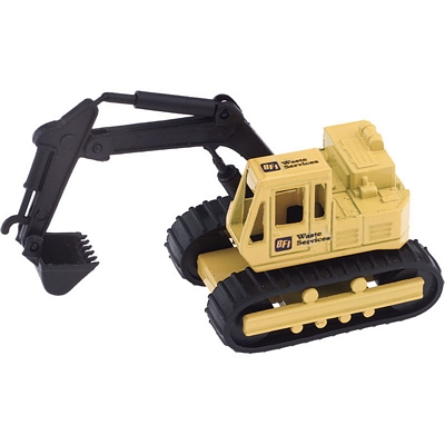 Custom Desk Display Backhoe