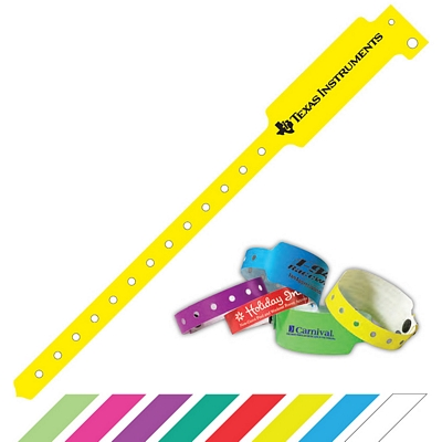 Promotional 1 Super Plastic Party Access Wristband